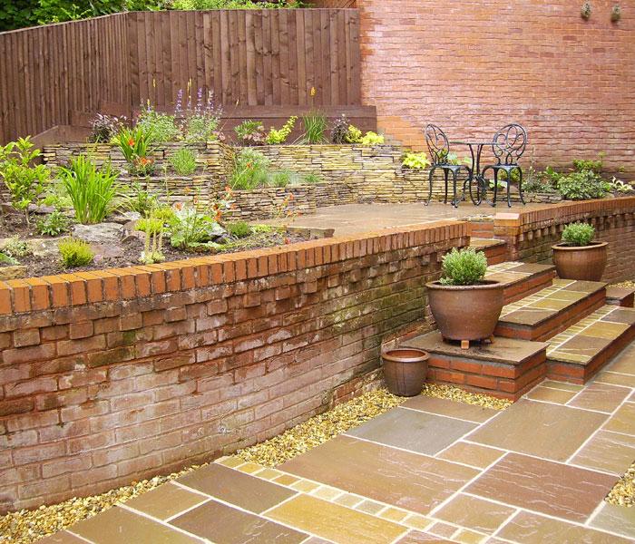 Garden design wirral gardens for Terrace garden meaning
